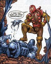 Peter Petruski (Earth-616) Gideon Trust armor from Fantastic Four Vol 3 40