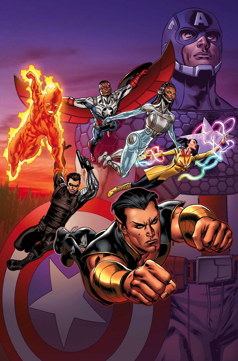MARVEL NOW NOVA MARVEL JAMES ROBINSON STEVE PUGH MARK LAMING BARRY KITSON ALL-NEW INVADERS 8 9 10 11 12 13 14 15 NOVÍSSIMOS INVASORES UNIVERSO MARVEL 26 27 28 29 30 31