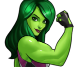 Jennifer Walters (Earth-TRN562) from Marvel Avengers Academy 005
