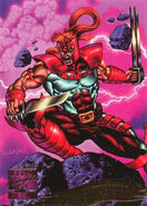 Gaveedra Seven (Mojoverse) from Marvel Masterpieces Trading Cards 1995 Set 0001
