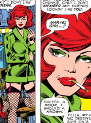 Phoenix Force as Jean Grey (Earth-616) from X-Men Vol 1 111 0001