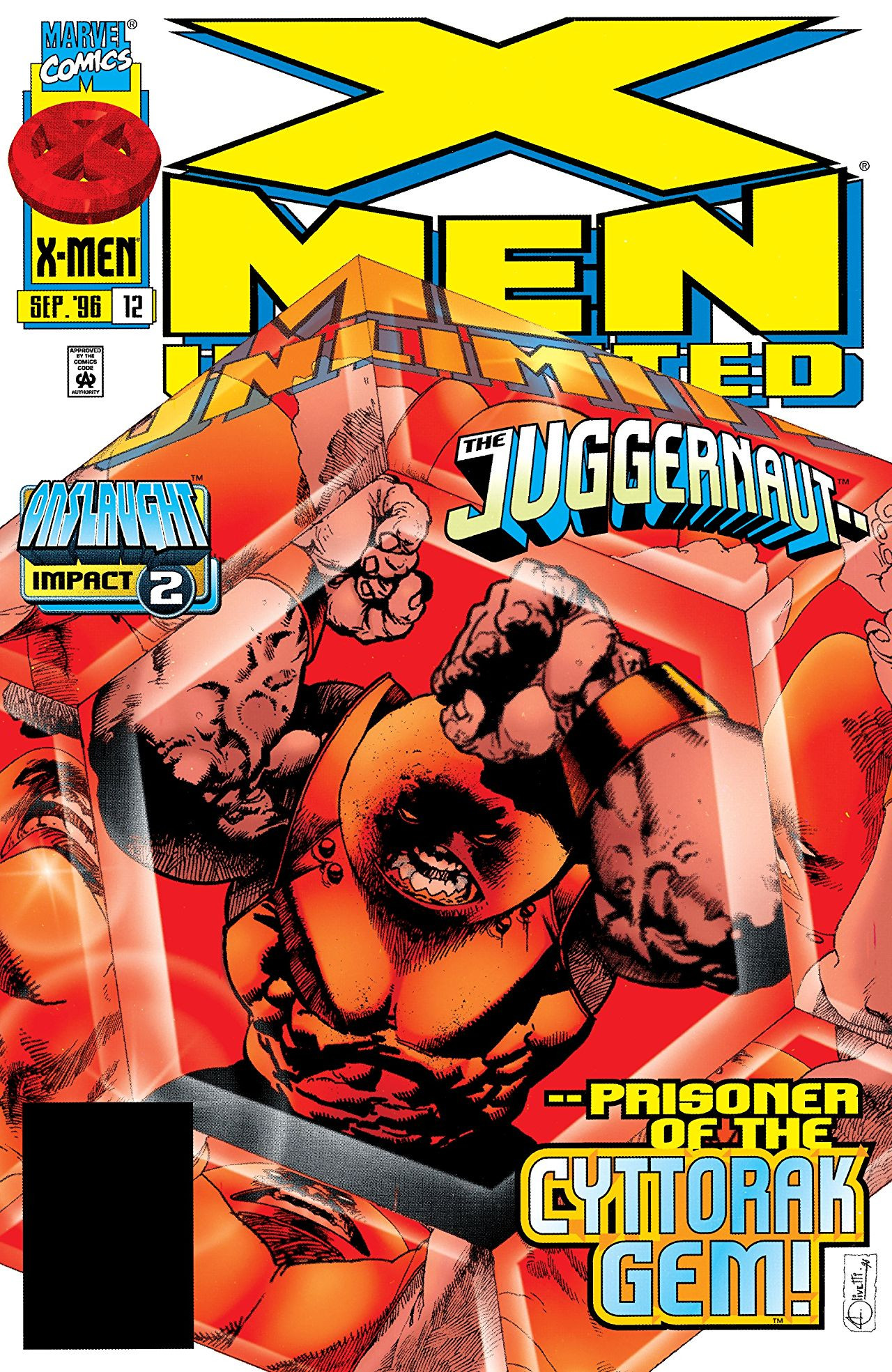 X-Men Unlimited #12 1996