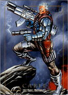 Nathan Summers (Earth-616) from Marvel Masterpieces Trading Cards 1992 0001