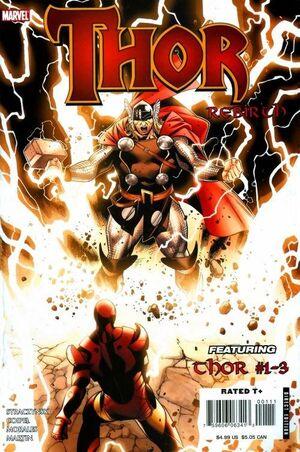 Thor Rebirth Cover