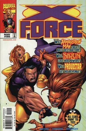 X-Force Vol 1 90