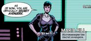 Maria Hill (Earth-616) from Secret Avengers Vol 3 3
