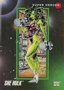 Jennifer Walters (Earth-616) from Marvel Universe Cards Series III 0001