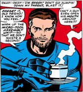 Reed Richards unshaven from Fantastic Four Vol 1 67