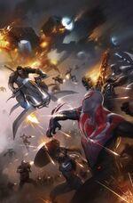 Spider-Man 2099 Vol 3 16 Textless