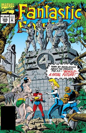 Fantastic Four Vol 1 389