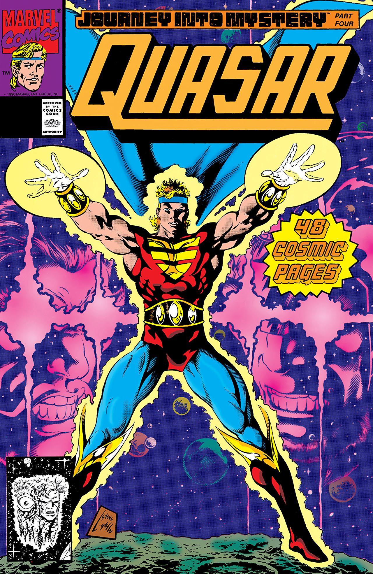 Quasar Vol 1 16 Marvel Database Fandom Powered By Wikia
