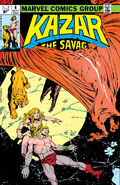 Ka-Zar the Savage Vol 1 6