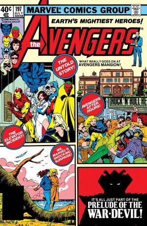 Avengers Vol 1 197
