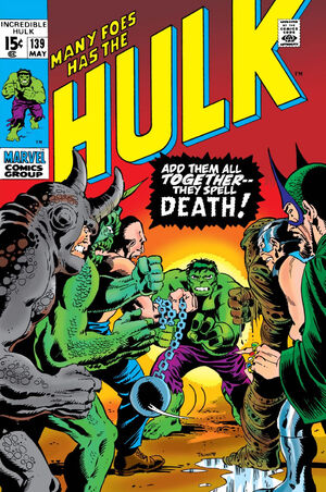 Incredible Hulk Vol 1 139