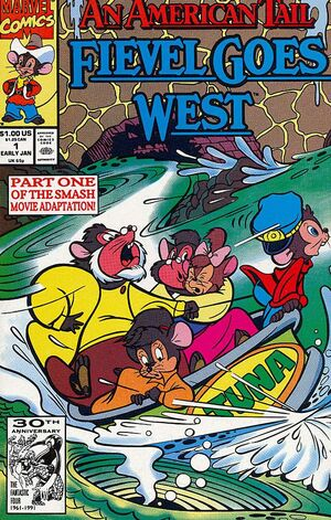 An American Tail Fievel Goes West Vol 2 1