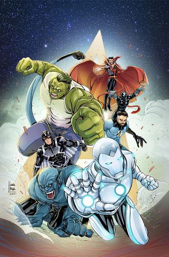 New Avengers Vol 3 31 Women of Marvel Variant Textless