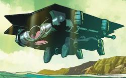Gungnir (Robot) (Earth-616) from Captain America Vol 7 19 001
