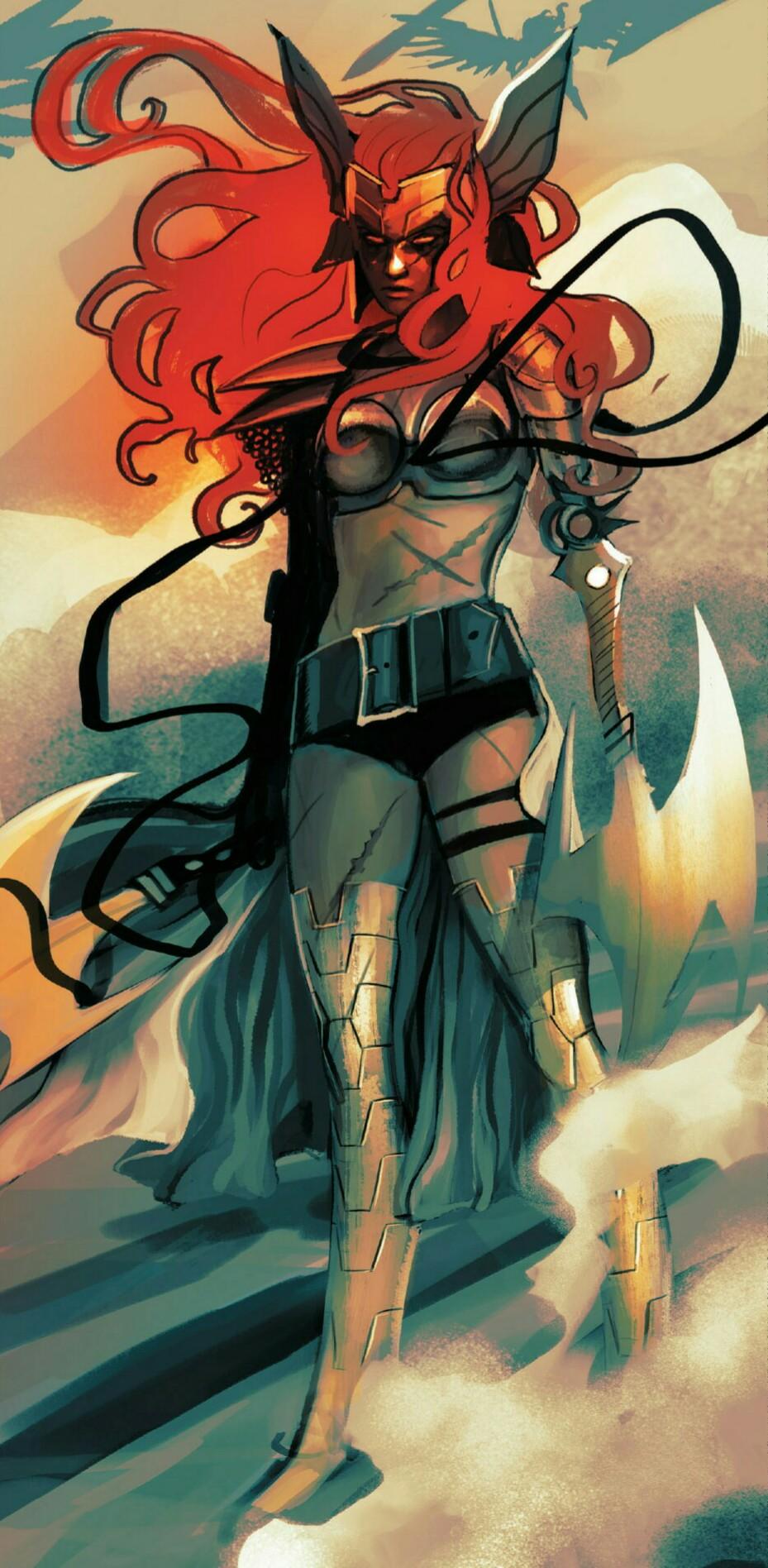Aldrif Odinsdottir Earth Trn609 Marvel Database