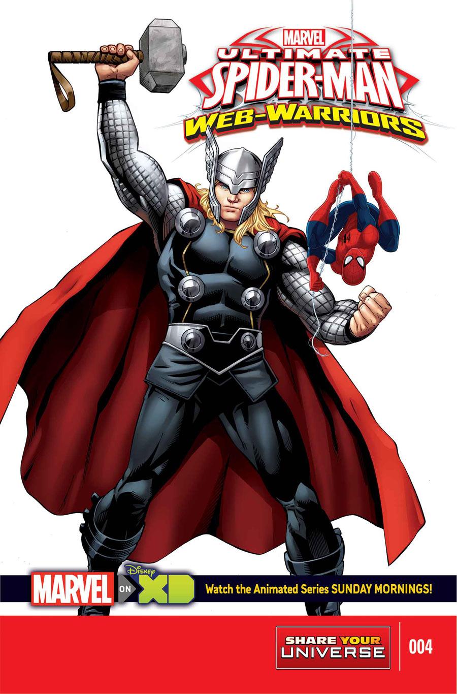 marvel universe ultimate spider man web warriors vol 1 4 marvel