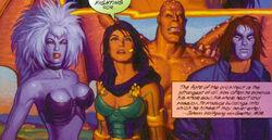 X-Men (Earth-928) from X-Men 2099 Oasis Vol 1 1001