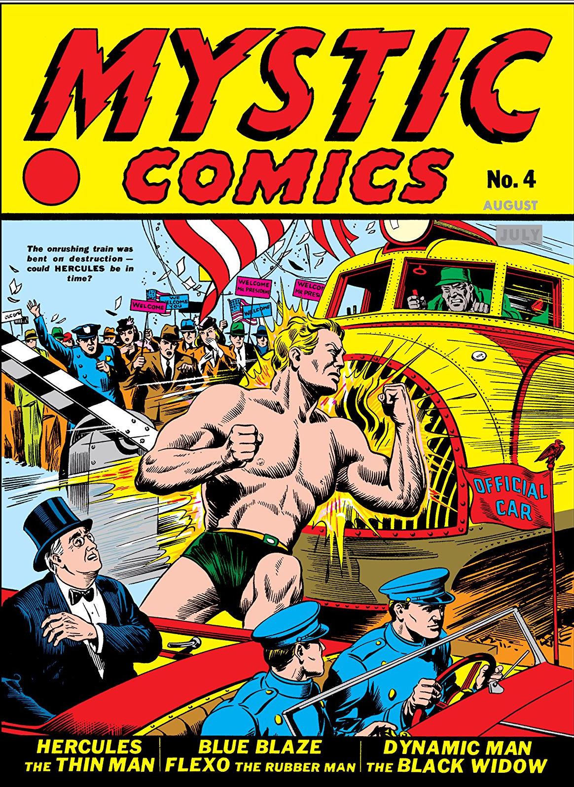 """Résultat de recherche d'images pour """"Mystic comics 4 marvel 1940"""""""