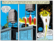 Skrull-Ship (Water Tower) from Fantastic Four Vol 1 2 0002