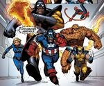 Ape-Vengers (Earth-95019) from Marvel Apes Amazing Spider-Monkey Special Vol 1 1 0001