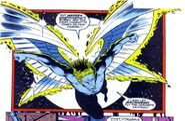 Warren Worthington III (Earth-616) from New Warriors Vol 1 32 0001