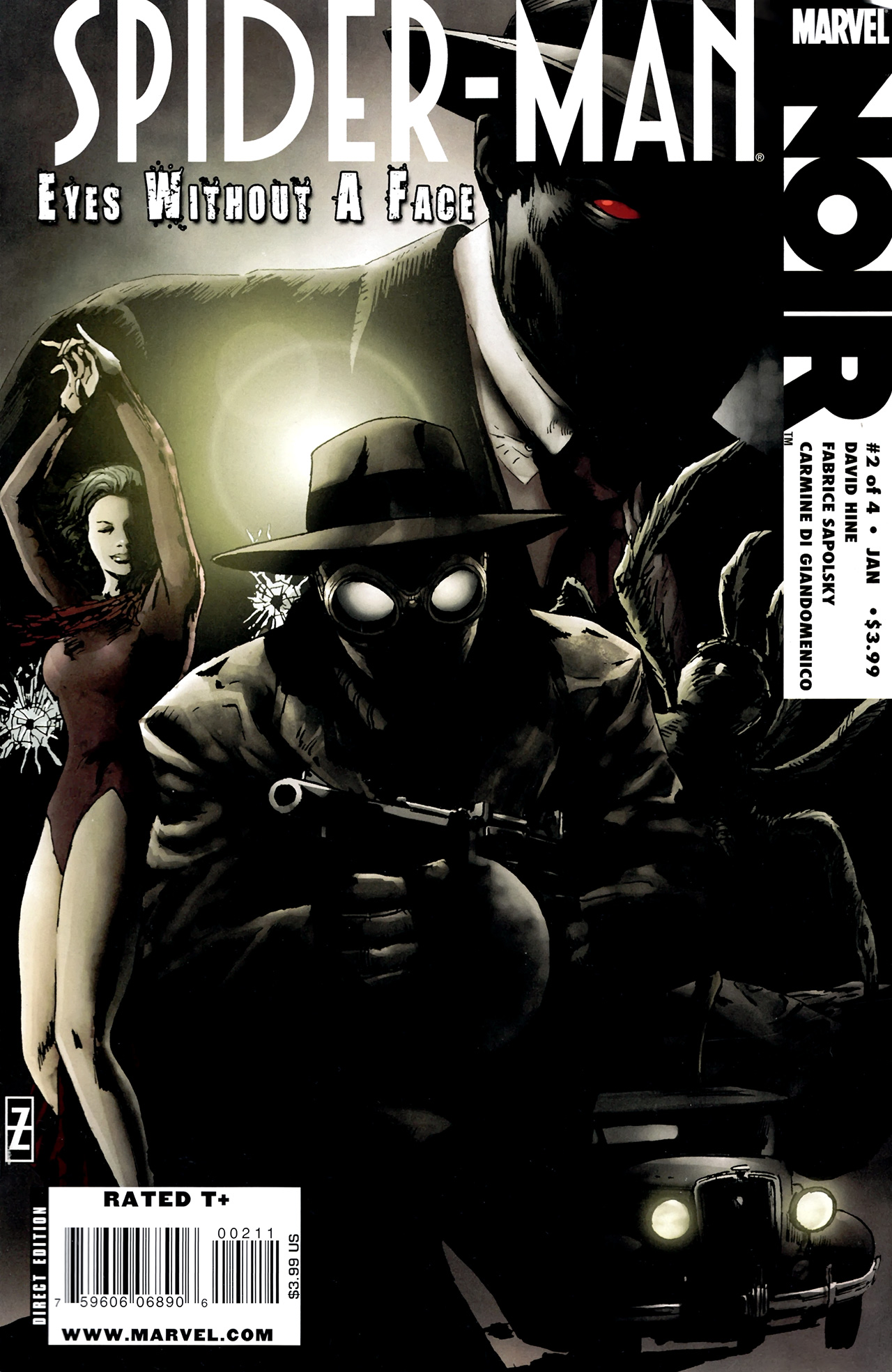 Spider man noir eyes without a face vol 1 2 marvel - Spiderman noir 3 ...