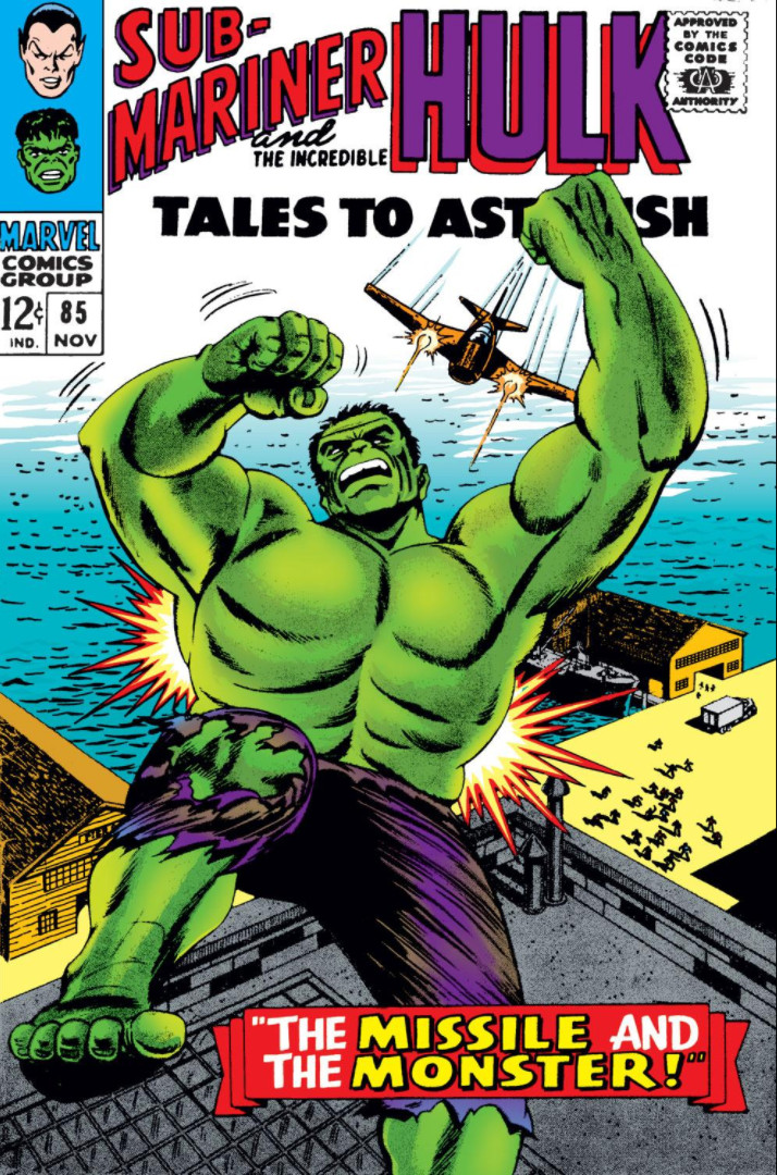 Image result for Tales to Astonish #85