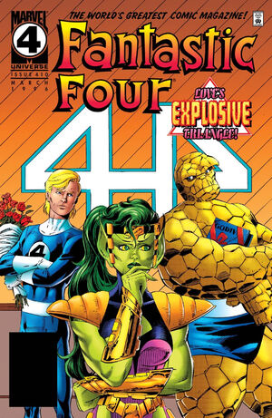 Fantastic Four Vol 1 410