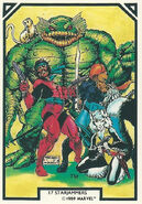 Starjammers (Earth-616) from Arthur Adams Trading Card Set 0001