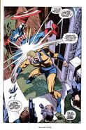 Captain America vs Man-Brute (Captain America -121)
