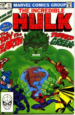Incredible Hulk Annual Vol 1 11
