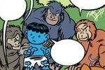 Super-Apes (Earth-99062) from Lockjaw and the Pet Avengers Unleashed Vol 1 3 001