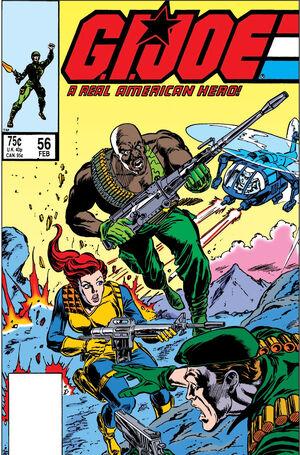 G.I. Joe A Real American Hero Vol 1 56