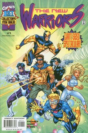 New Warriors Vol 2 1