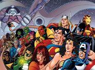 JLA Avengers Vol 1 1 Wrap Around