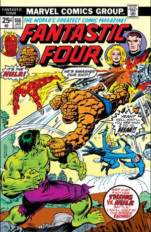Fantastic Four Vol 1 166