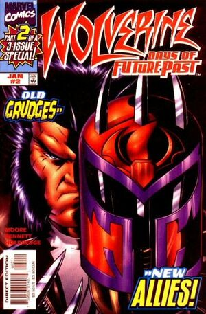 Wolverine Days of Future Past Vol 1 2