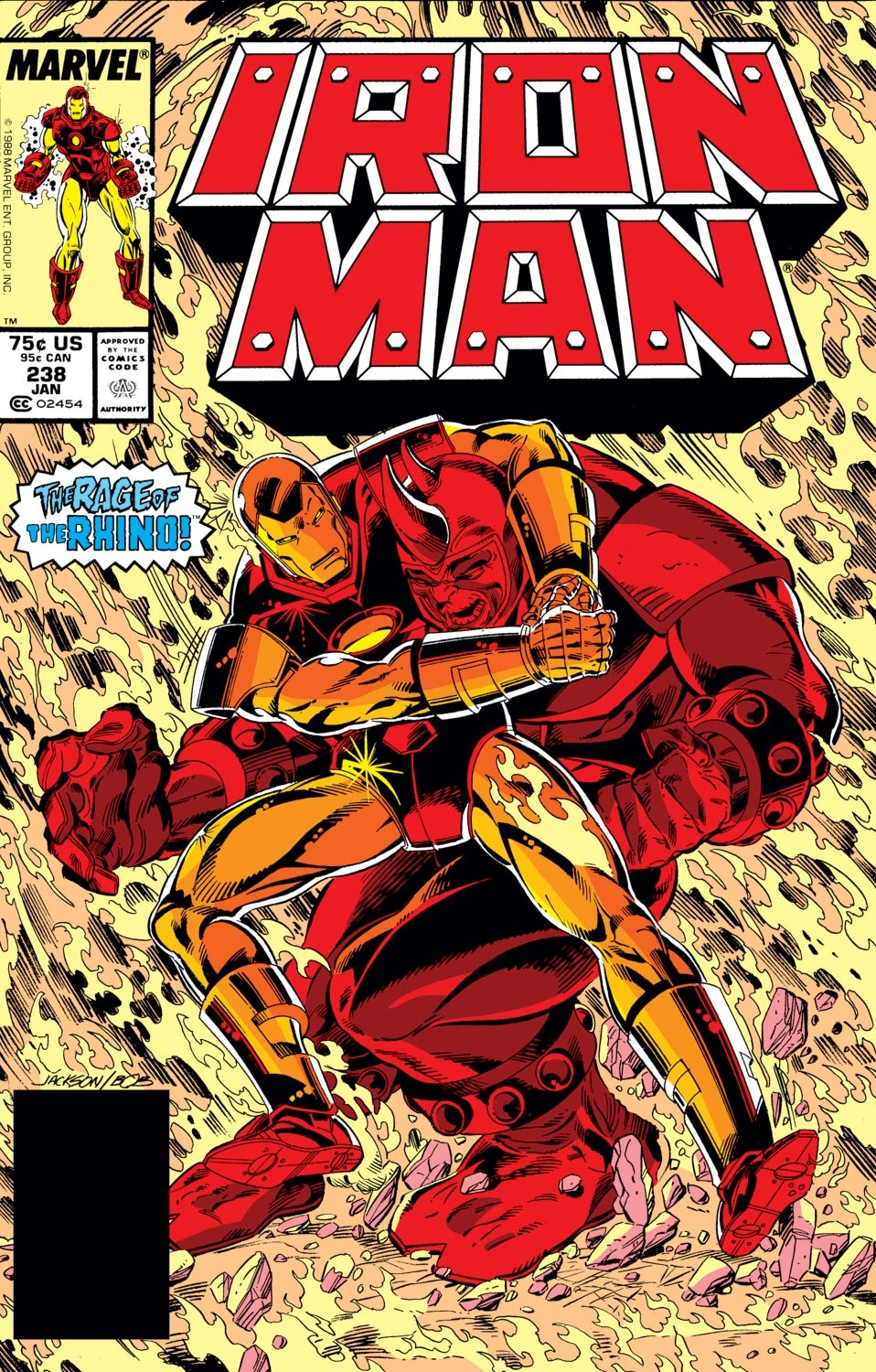 Iron man vol 1 238 marvel database fandom powered by wikia - Iron man 1 images ...
