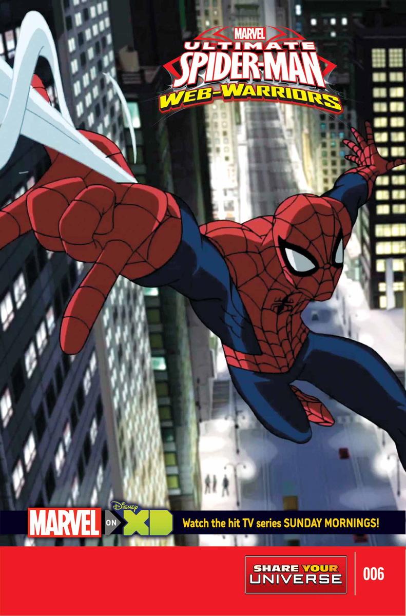 Ultimate Spider-Man Web-Warriors: Spider-Verse #1