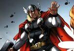 Thor Odinson (Earth-97161) from Avengers vs. Pet Avengers Vol 1 4 001