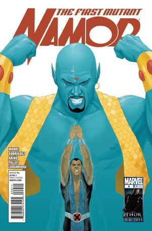 Namor The First Mutant Vol 1 9