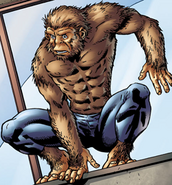 Martin Blank (Earth-616) from Marvel Apes Vol 1 1 0001