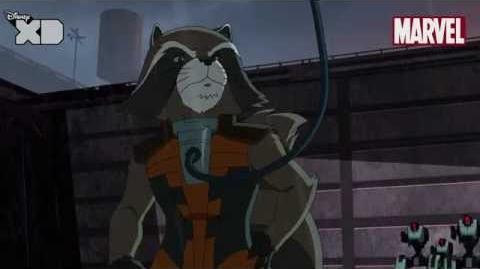 Guardians of The Galaxy Rocket Raccoon Part 1 Official Disney XD UK