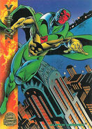 Vision (Earth-616) from Marvel Universe Trading Cards 1994 0001
