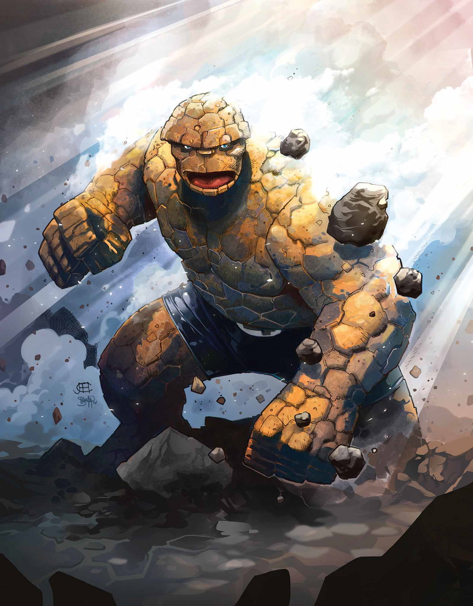 Fantastic Four Vol 1 642 Cheung Variant Textless