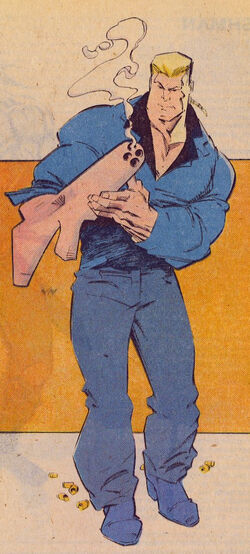 Carl Burbank (Earth-616) from Official Handbook of the Marvel Universe Vol 3 1 0001