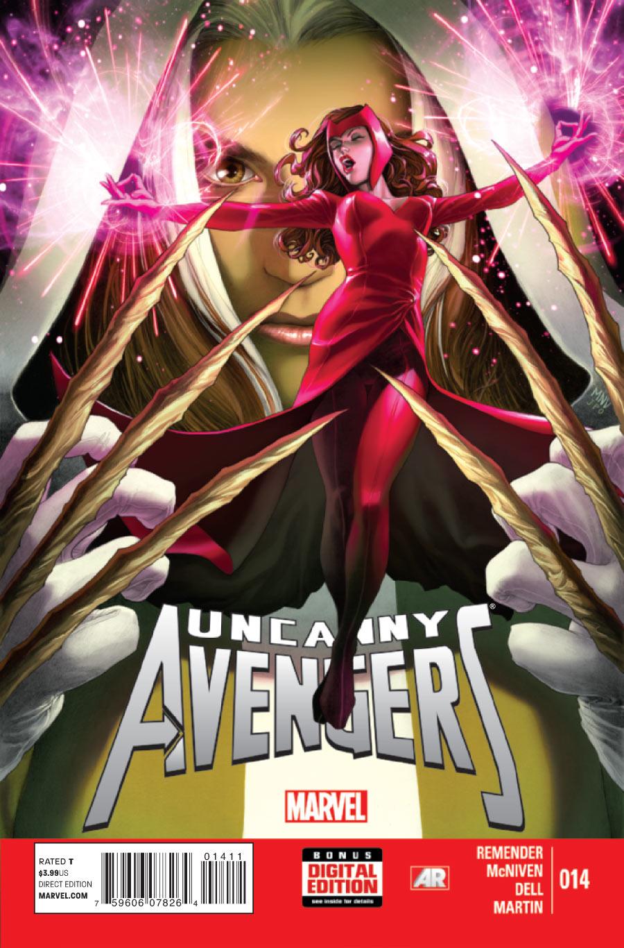 uncanny avengers vol 1 14 marvel database fandom